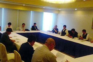 全日本同和会 東京都連合会 第一回支部長会議