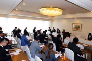 全日本同和会 東京都連合会 第1回 理事会